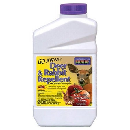 Bonide Go Away! Deer & Rabbit Repellent Concentrate