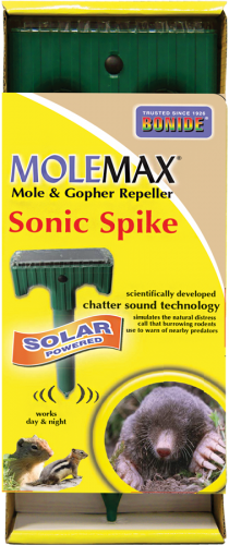 Bonide Solar Mole & Gopher Repeller Sonic Spike