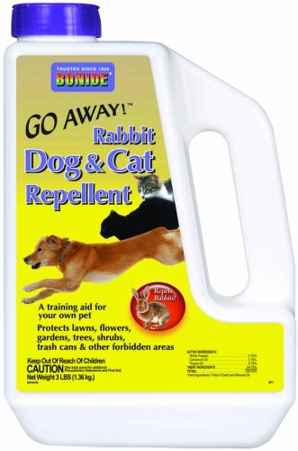 Bonide Go Away! Rabbit, Dog & Cat Repellent