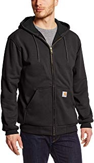 Carhartt Rain Defender Rutland Thermal Zip-Front Sweatshirt