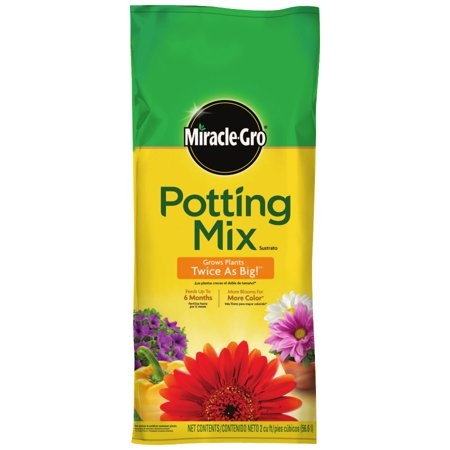 Miracle Gro 2 cu. ft. Potting Mix