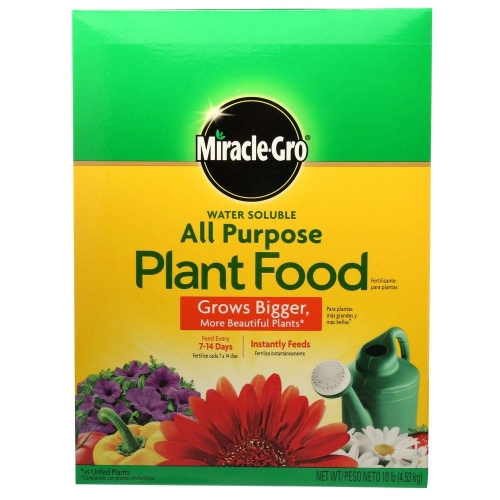 Miracle Gro Water Soluble All Purpose Plant Food 10 lb.