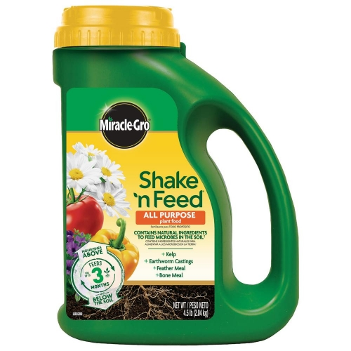 Miracle Gro Shake 'n Feed All Purpose Plant Food 4.5 lb.