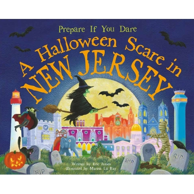 A Halloween Scare in New Jersey Book by Eric James