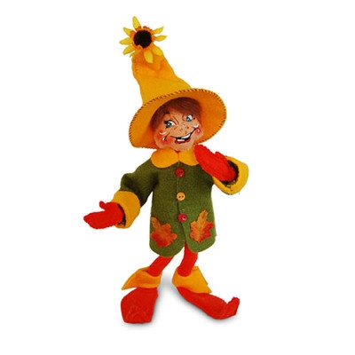 Annalee 10 inch Autumn Leaf Elf