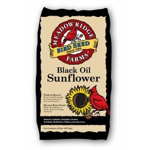 20-Lb. Black Oil Sunflower Bird Seeds