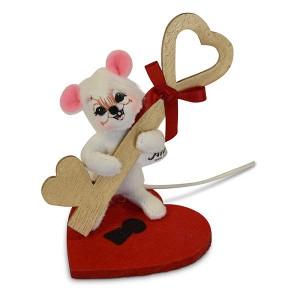 3in Key to My Heart Mouse