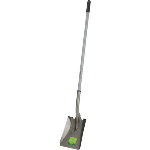Fiberglass Handle Square Point Shovel