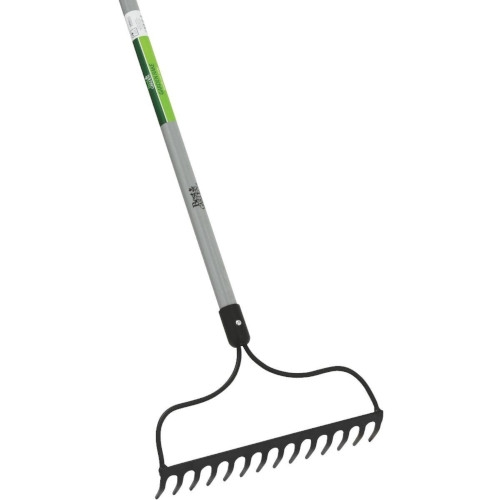 Fiberglass Long Handle Bow Garden Rake