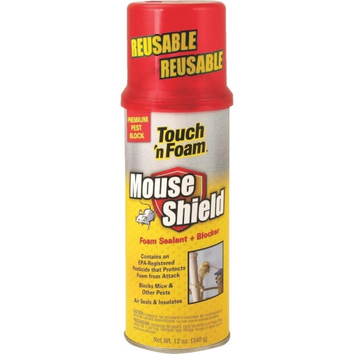 Touch 'n Foam Mouse Shield Foam Sealant & Blocker