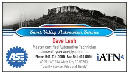 Sams Valley Automotive Service