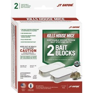 JT Eaton Disposable Mouse Bait Station