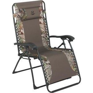 Outdoor Expressions RealTree Zero Gravity Relaxer Convertible Lounge Chair
