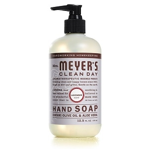 Mrs. Meyers Clean Day Liquid Hand Soap – Lavender