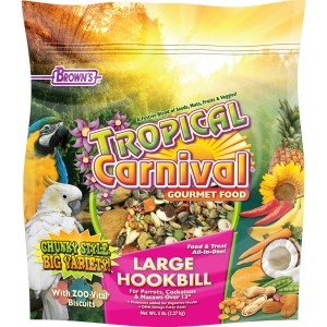 Tropical Carnival® Large Hookbill Food 5lb $13.99