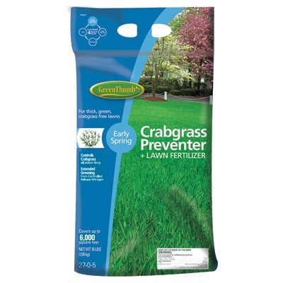Green Thumb Premium Crabgrass Preventer Plus Lawn Fertilizer