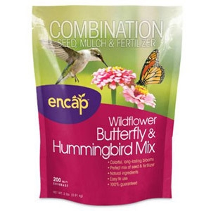 Encap® Wildflower, Butterfly & Hummingbird Mulch Seed Mix