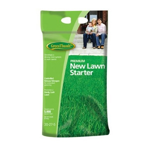 Green Thumb® 20-27-5 Premium New Lawn Starter