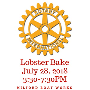42nd Annual Milford Rotary Lobster Bake