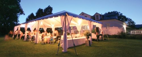 20 X 40 Fiesta Frame Tent Taylor Rental Party Plus Of Orange