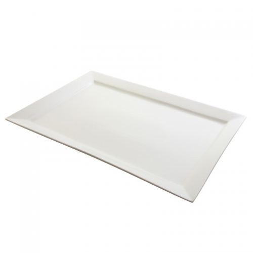 Large Rectangular White Platter