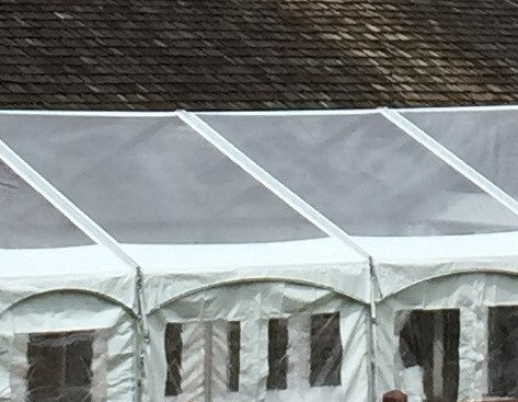 30'x10' F3 Clear Tent Top Panels