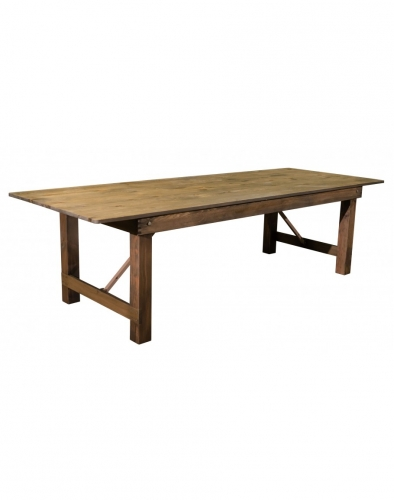 Farm Table, Knotty Pine
