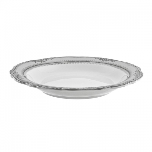 Vanessa Platinum Soup Bowl