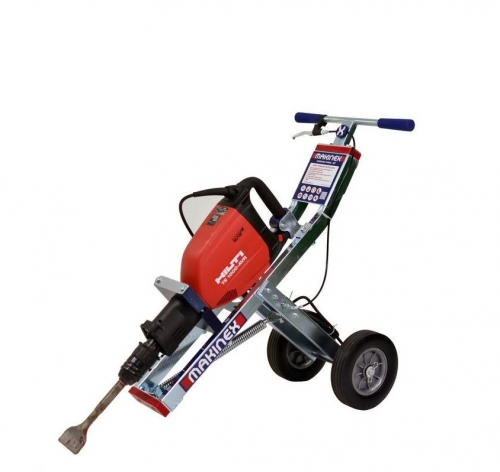 Tile Remover - Jackhammer with cart
