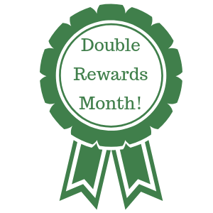 Our rewards program is double for September!
