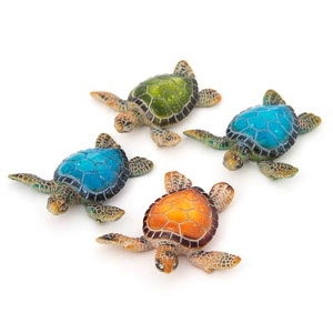 4 Sea Turtles