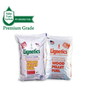 Lignetics 100% Premium Wood Pellet Fuel