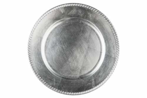 Charger Silver Plate