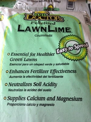Soil Doctor Pelletized Lawn Lime, 40 lbs.