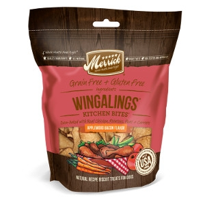 Wingalings Applewood Bacon Flavored Dog Treats, 9 oz.