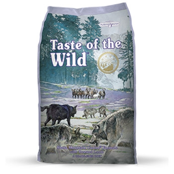 Taste of the Wild Sierra Mountain Grain Free Dry Dog Food, 30 lbs.