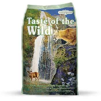 Taste of the Wild Rocky Mountain Grain Free Dry Cat Food, 15 lbs.