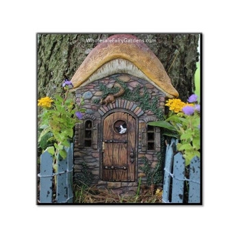 Kitten's Corner Fairy Door by Wholesale Fairy Gardens