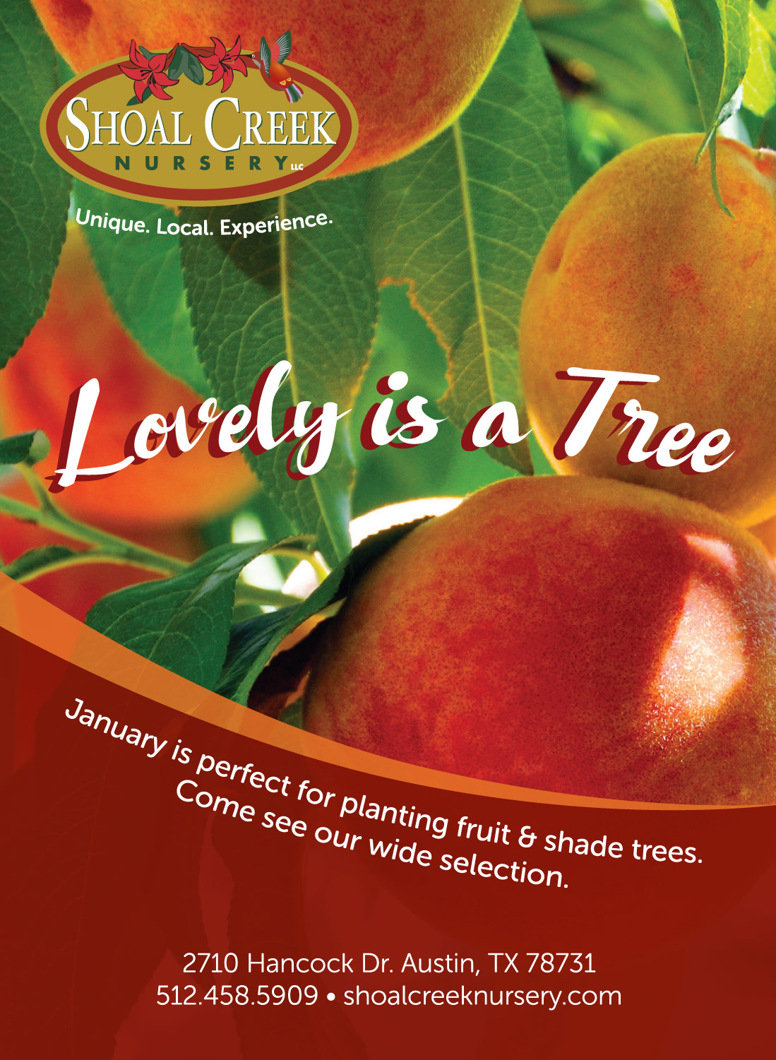 Lovely is a Tree ad
