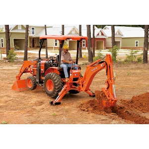 Kubota B26 Tractor Loader Backhoe