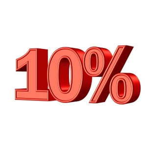 10% Off any Featured Product Rental!