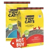 Your Choice of Tidy Cats Cat Litter now 3/$9.99