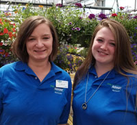 Bethany, Assistant Manager, Ashleigh, Associate Manger