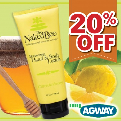 20% Off Naked Bee