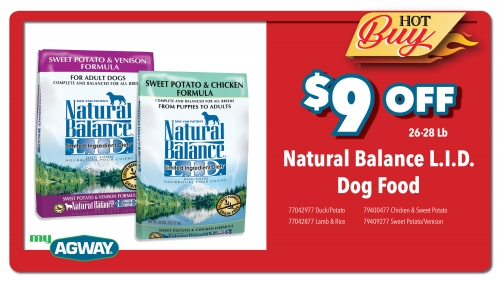 Natural Balance L.I.D. Dog Food
