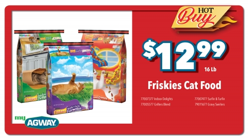 Friskies Cat Food, 16Lb
