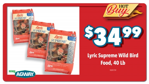 Lyric Supreme Wild Bird Food, 40lb