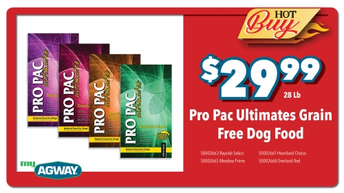 Pro Pac Ultimates Grain Free Dog Food