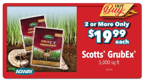 Scotts GrubEx  5M - 2 or More Only $19.99 each