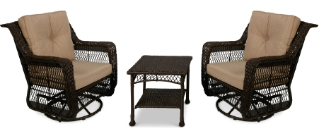 Resin Wicker 3-pc. Seating Group